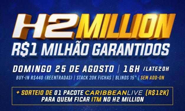 H2 Million: R$ 1 milhão garantidos!
